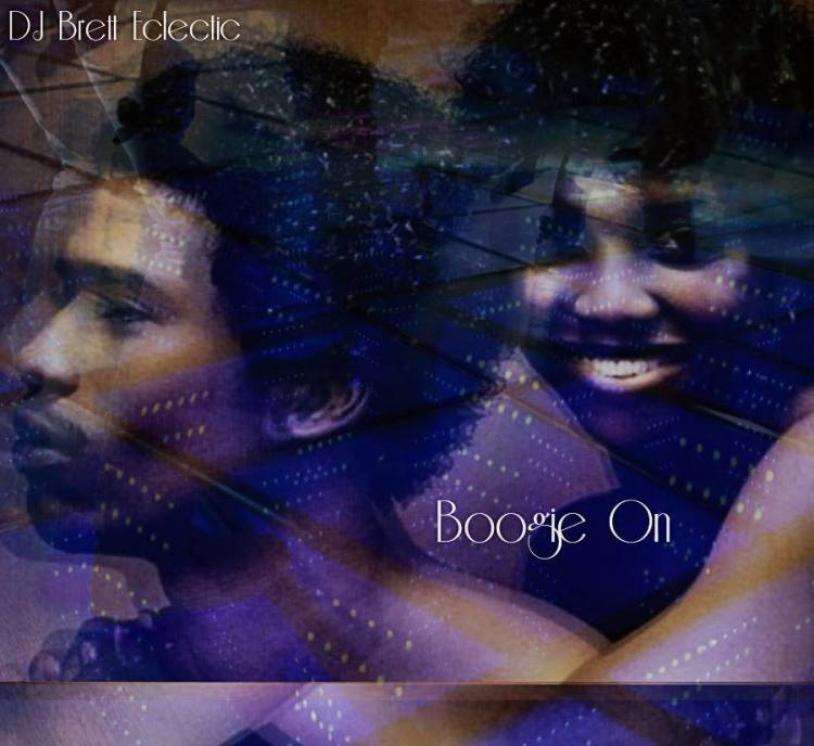 Vinyl collection of boogie funk tracks compiled by DJ Brett Eclectic